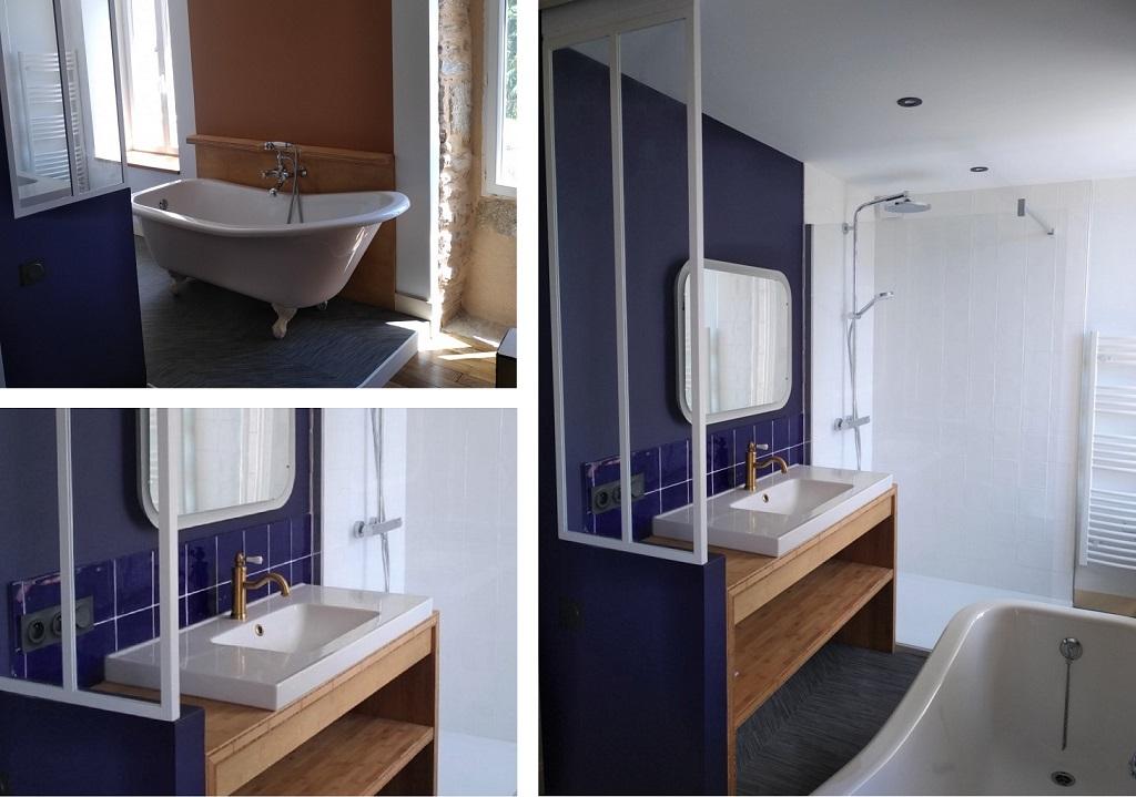rénovation salles de bain maison MOELAN SUR MET