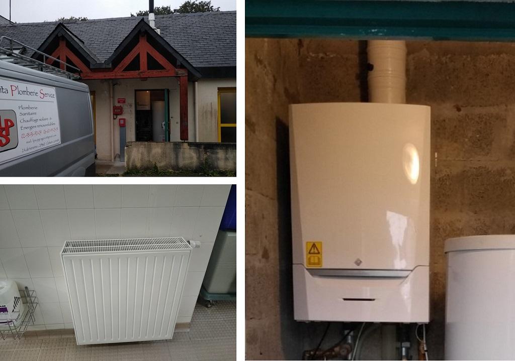 vente installation chaudière gaz condensation DE DIETRICH  moêlan CLOHARS-CARNOET