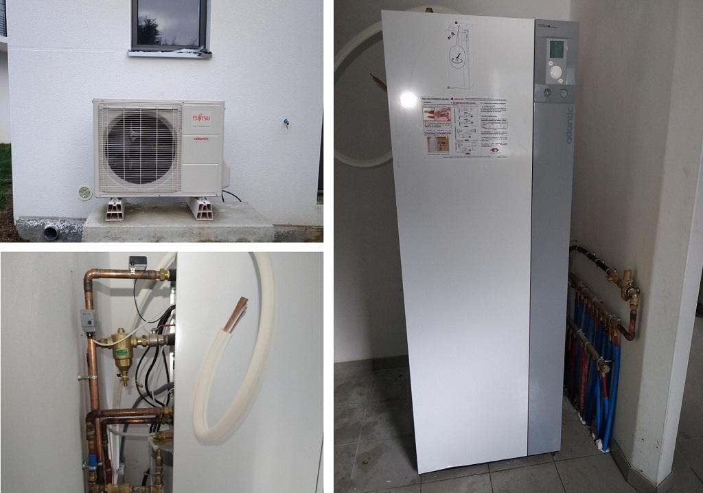 Vente installation pompe à chaleur ATLANTIC 29910 TREGUNC