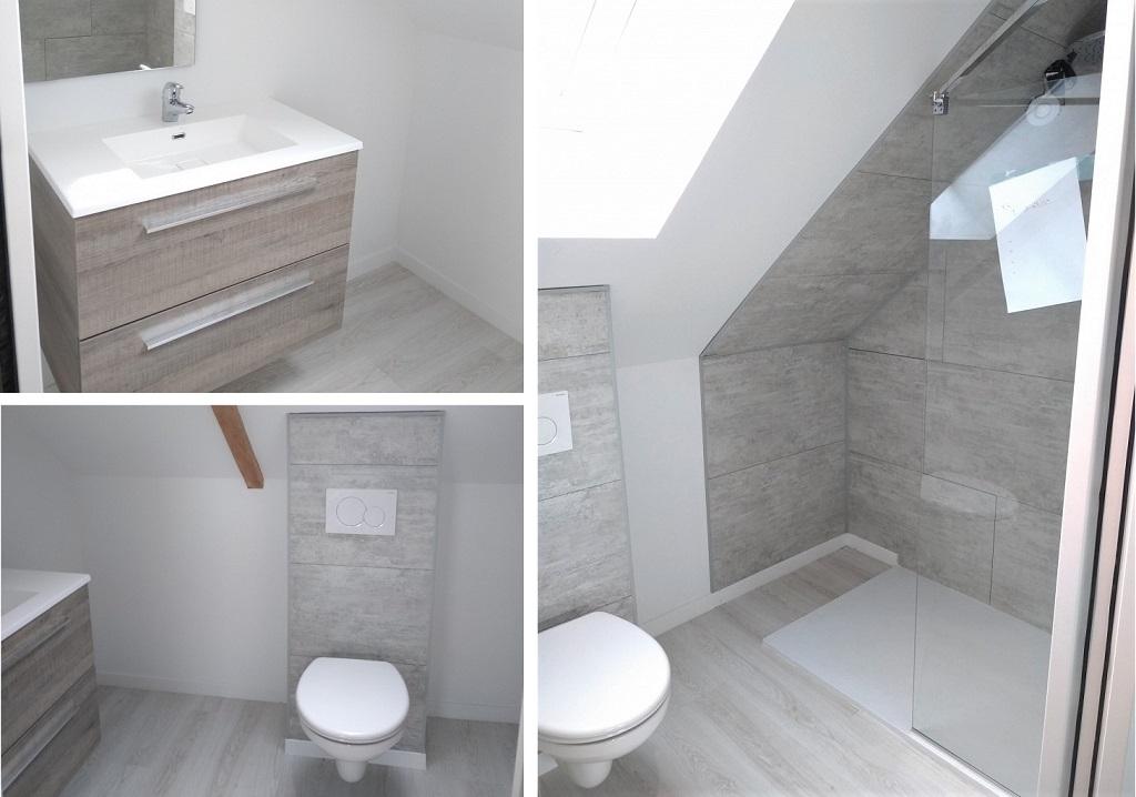 Installation salle de bain rénovation pour gîte