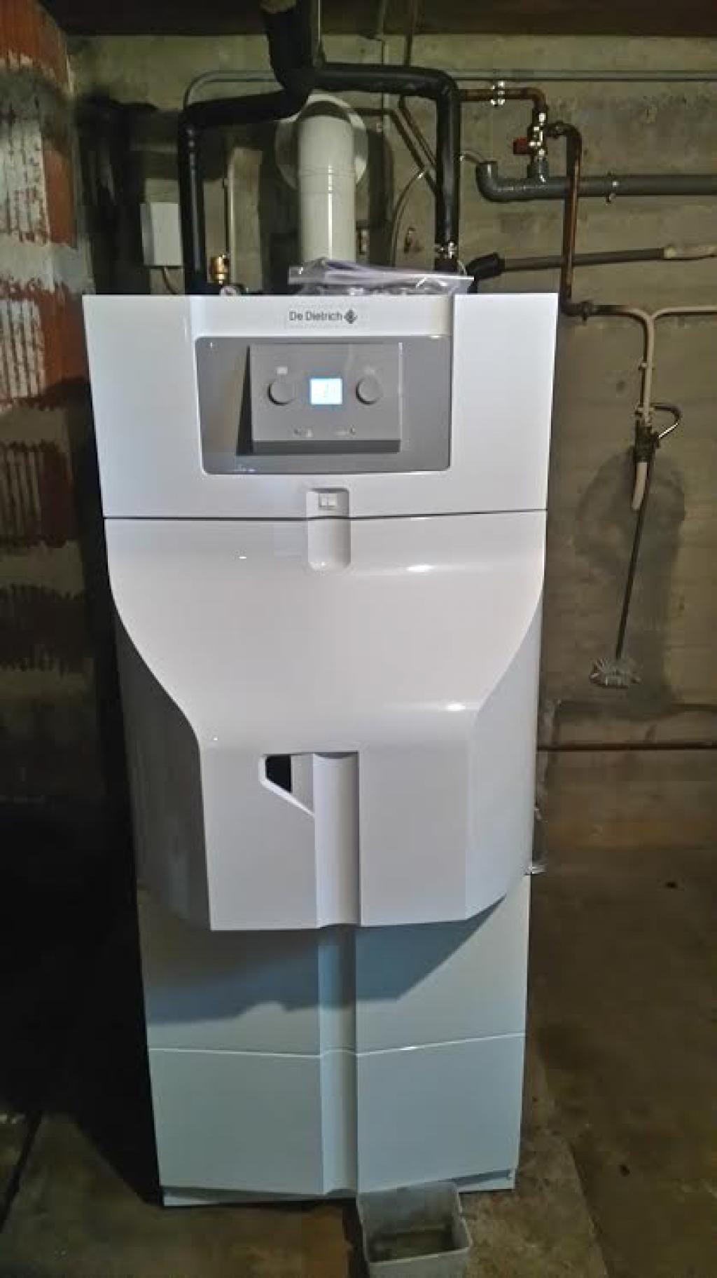 RGE vente installation chaudière fuel condensation DE DIETRICH  29360 CLOHARS-CARNOET