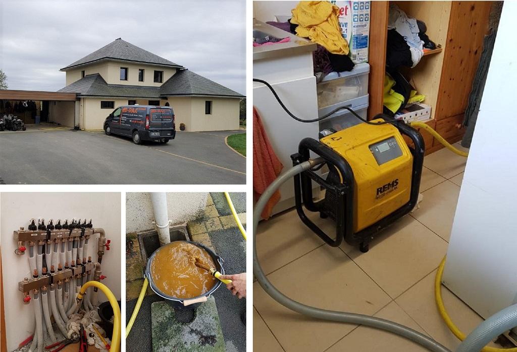 Nettoyage circuit chauffage dans le Finistère