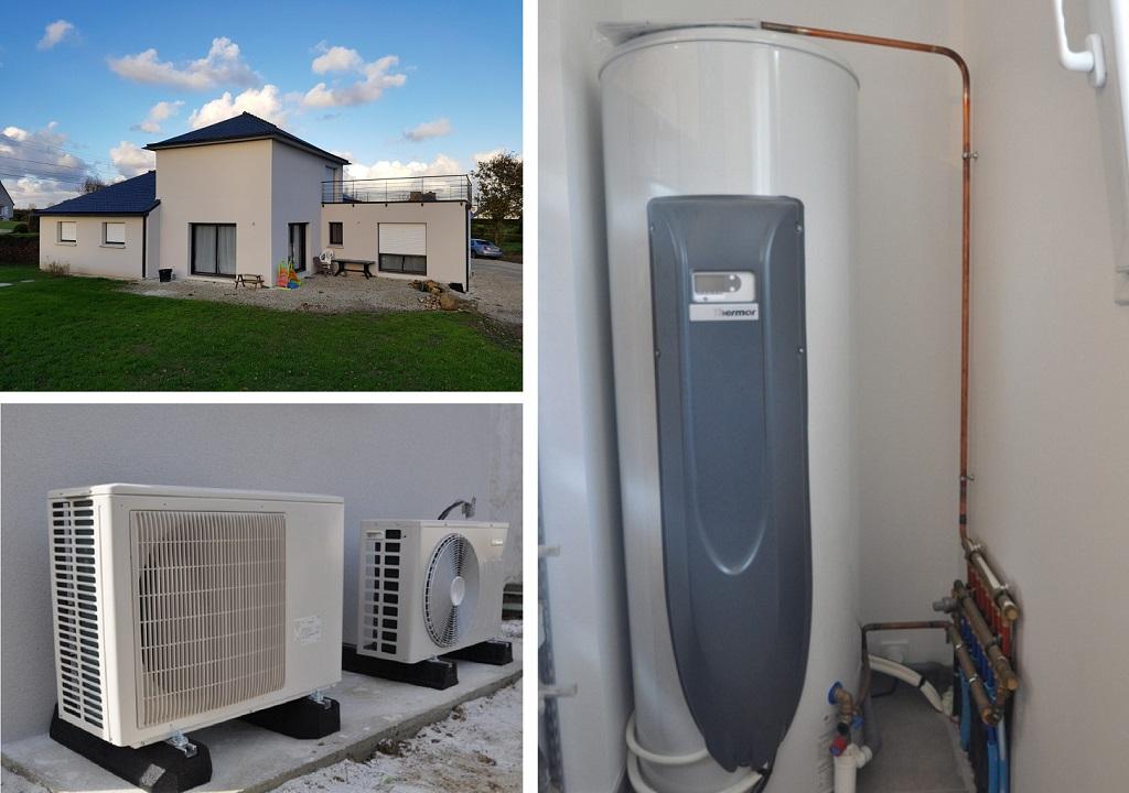 Mise en service chauffe-eau thermodynamique THERMOR dans le Finistère