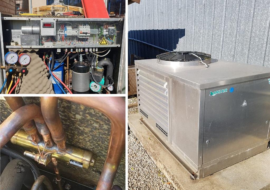 Dépannage pompe à chaleur air-eau Amzair