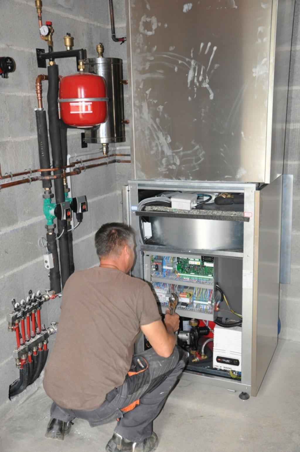 Mise en service pompe à chaleur Amzair