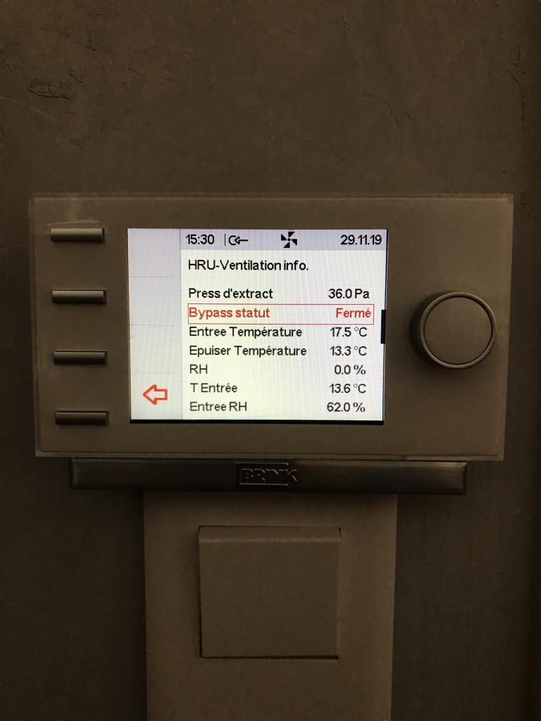 Entreprise RGE - électricité - qualité de l'air ventilation - VMC double flux Brink - 35830 Betton  (35)