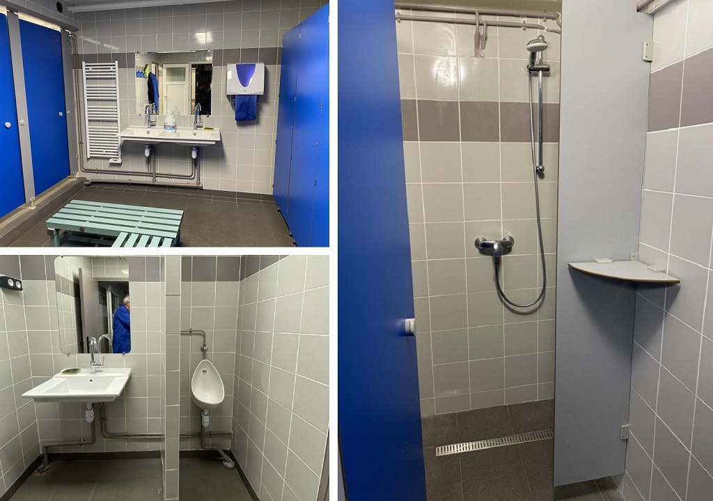 Entreprise plomberie sanitaire - rénovation de vestiaires professionnels   - 35000 Rennes (35)