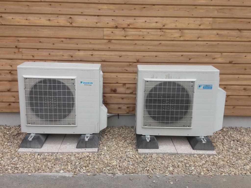 Modification d'une climatisation Daikin dans une crêche-Cher (18)