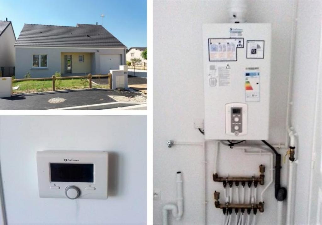 Chaudière gaz condensation Chaffoteaux et Maury Talia Green System