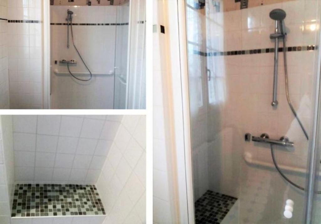 Remplacement d une baignoire par une douche a Bourges