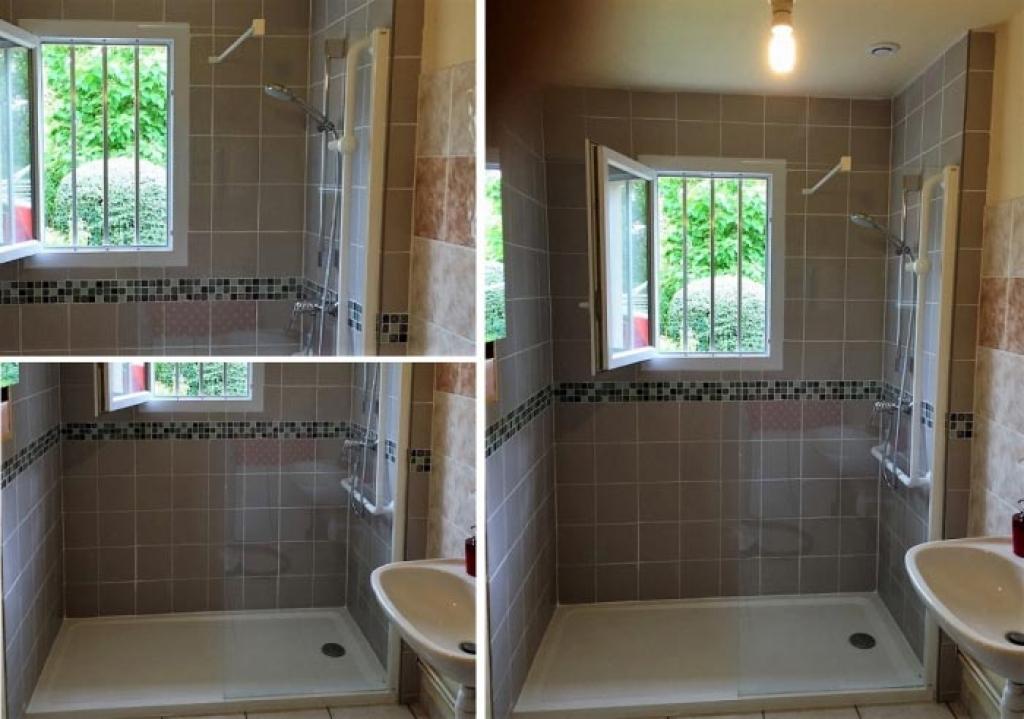 Installation d'une douche à l'italienne en remplacement d'une baignoire