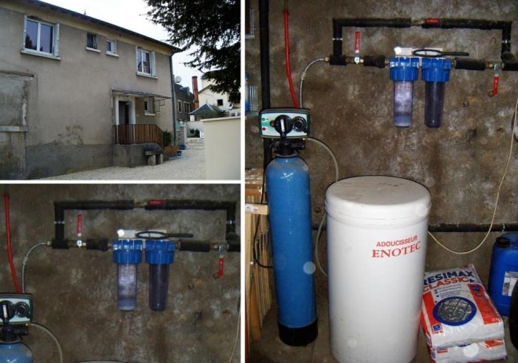 Adoucisseur d'eau bi-bloc Enotec-Cher (18)