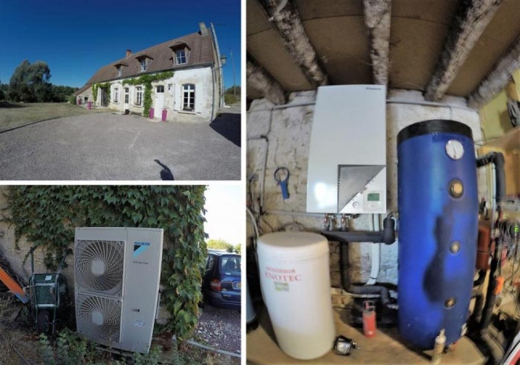 Pompe à chaleur air eau Daikin RGE Qualipac