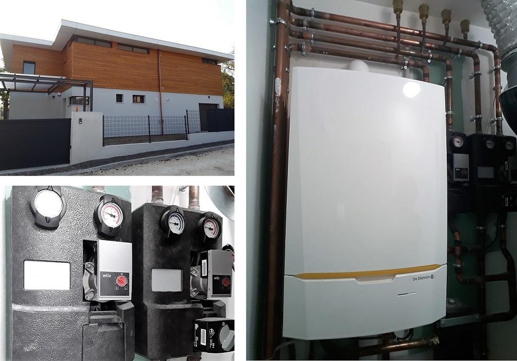 Chaudi re gaz condensation de dietrich dans maison neuve bbc bourges 18 sas dun energies - Maison neuve bbc ...