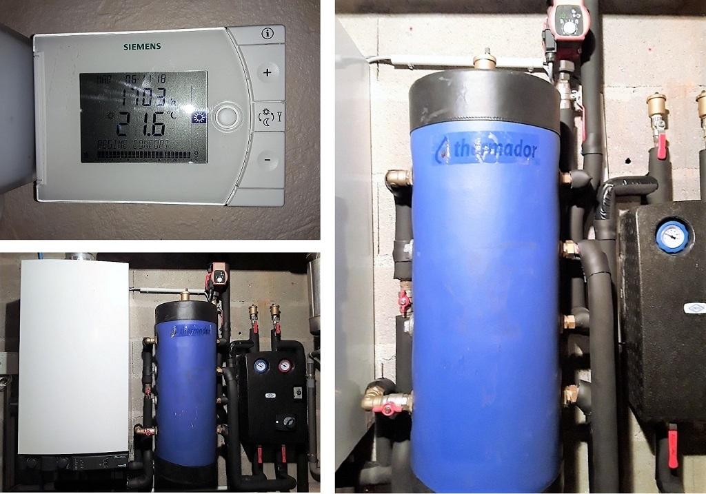 Modification hydraulique d'une installation de chauffage