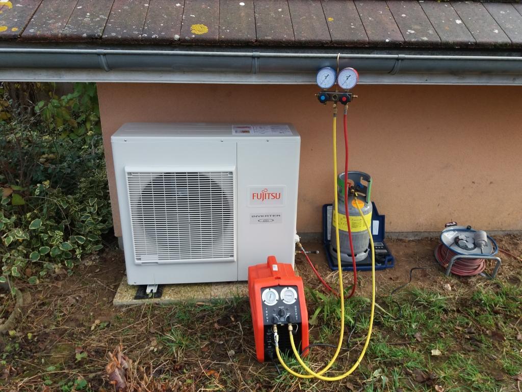 Mise en service pompe à chaleur