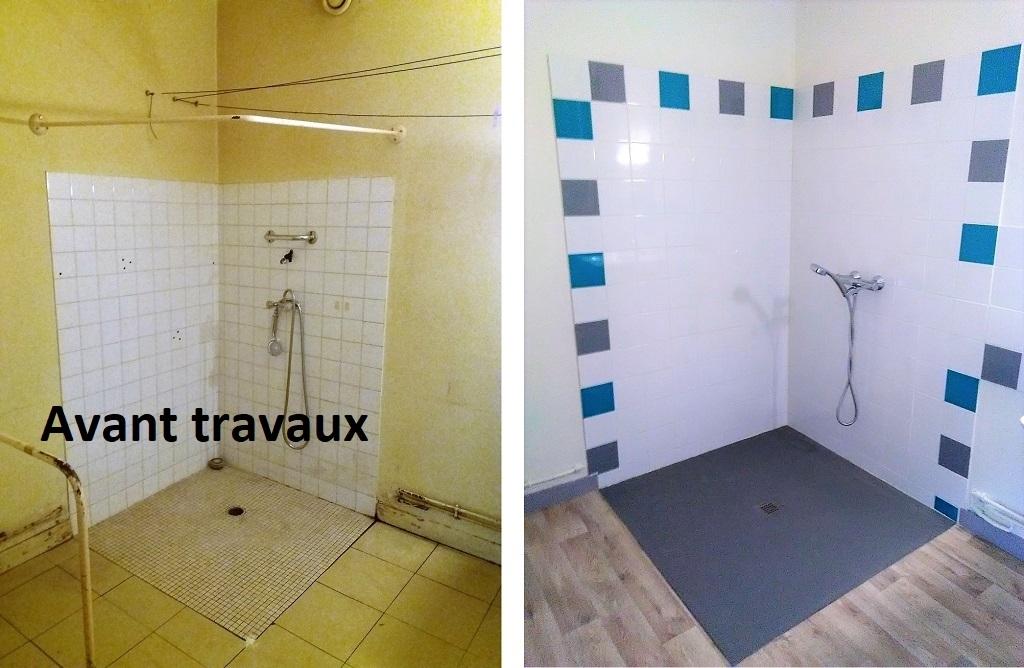 Douche à l'italienne et salle de bain adaptée-Cher (18)
