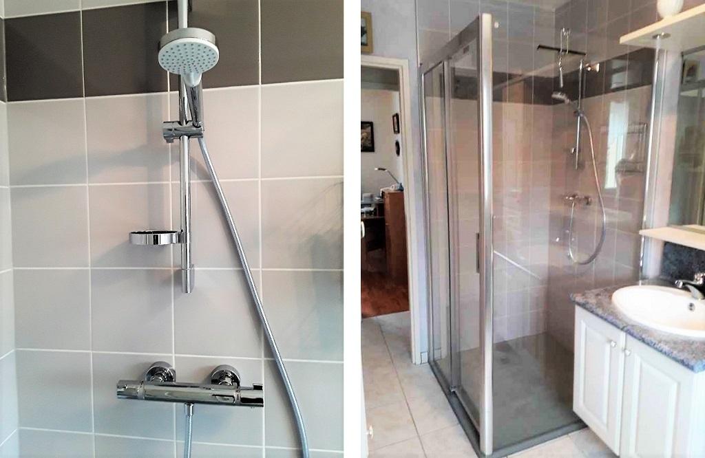 Réfection d'une douche complète-Cher (18)