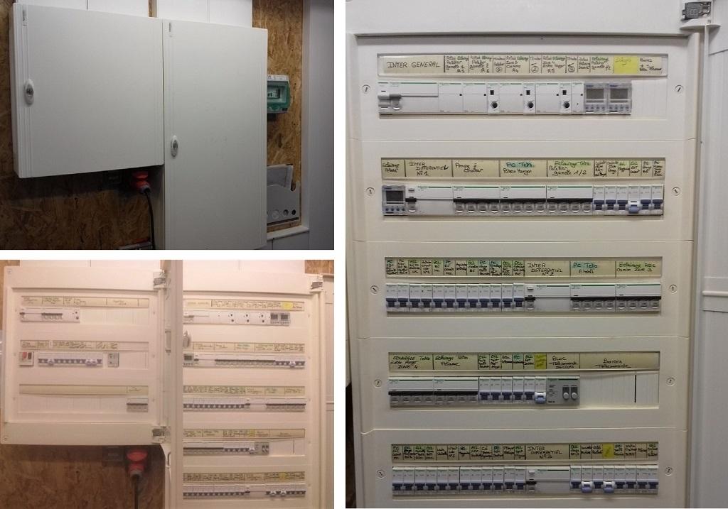 Armoires électriques Schneider
