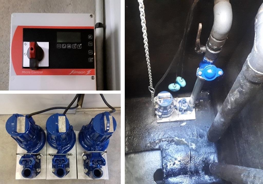 Pompe de relevage eau chargée-Indre (36)