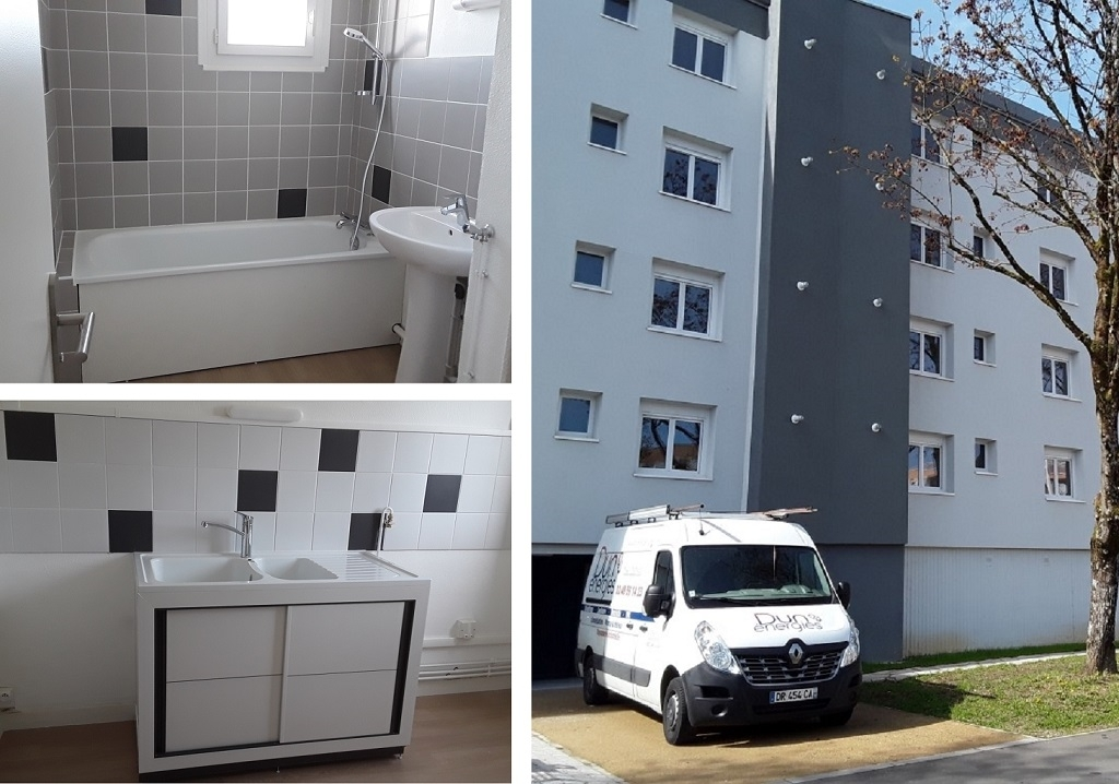 Plomberie Sanitaire dans un appartement