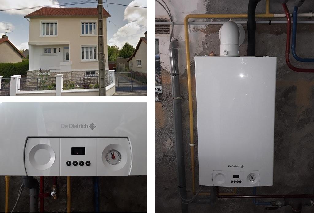 Chaudière gaz condensation économique - Artisan RGE-Cher (18)