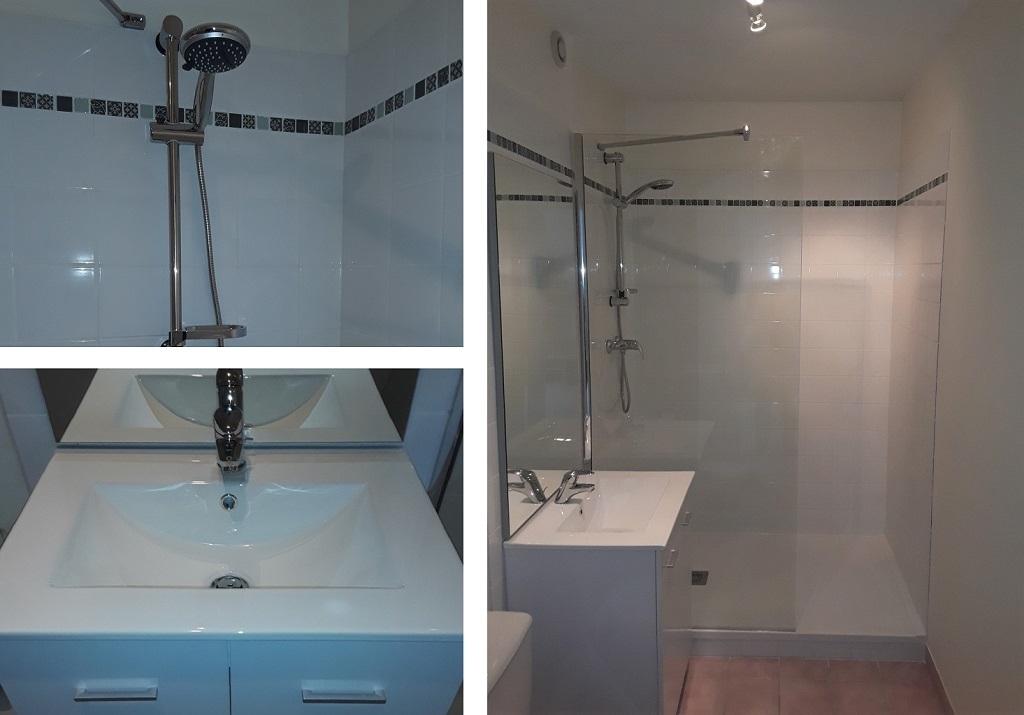Salle de bain pour logement locatif