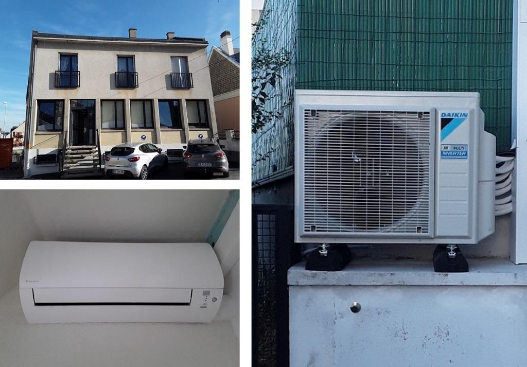 Climatisation d'un étage - Artisan RGE Qualipac