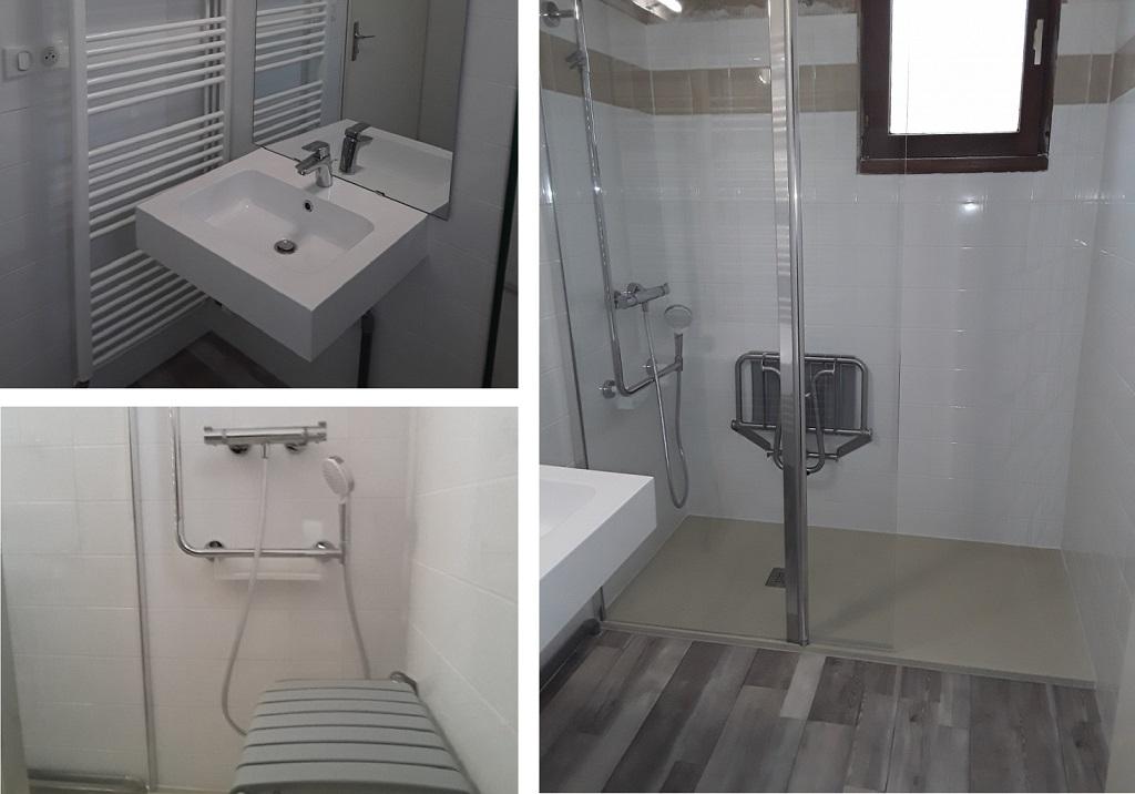 Douche à l'italienne - Salle de bain clé en main