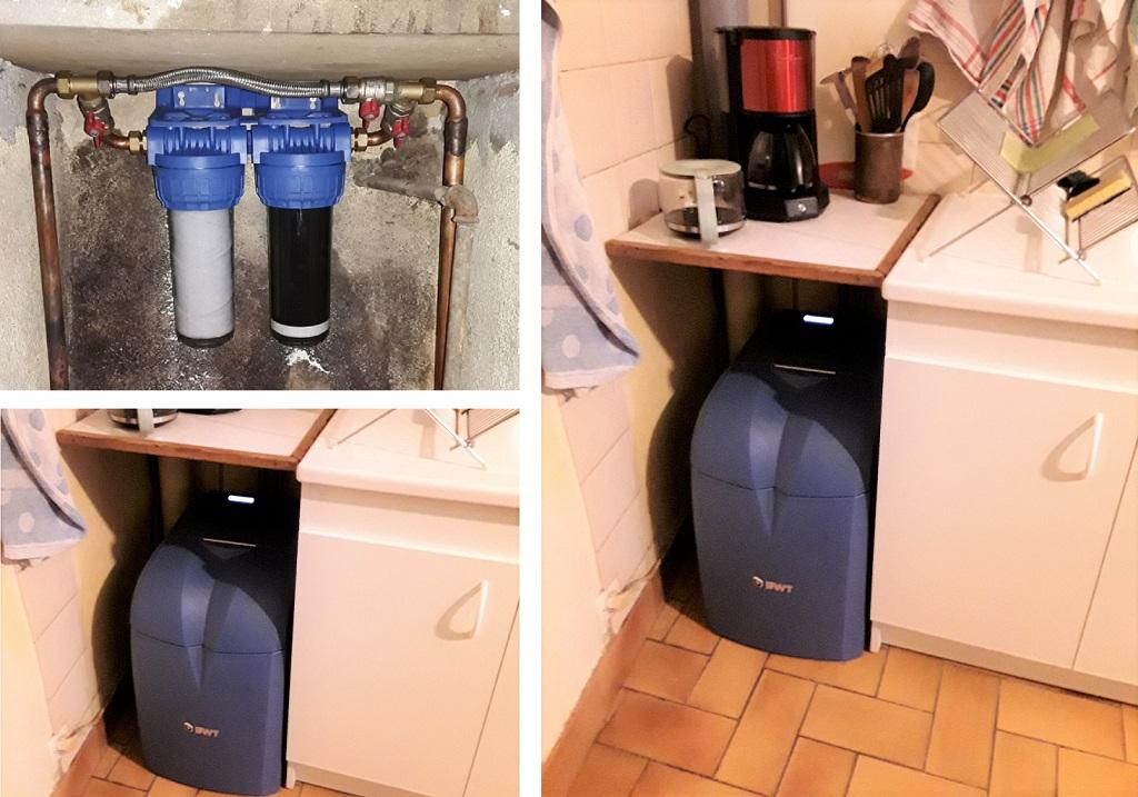 Installateur d'adoucisseur d'eau Permo