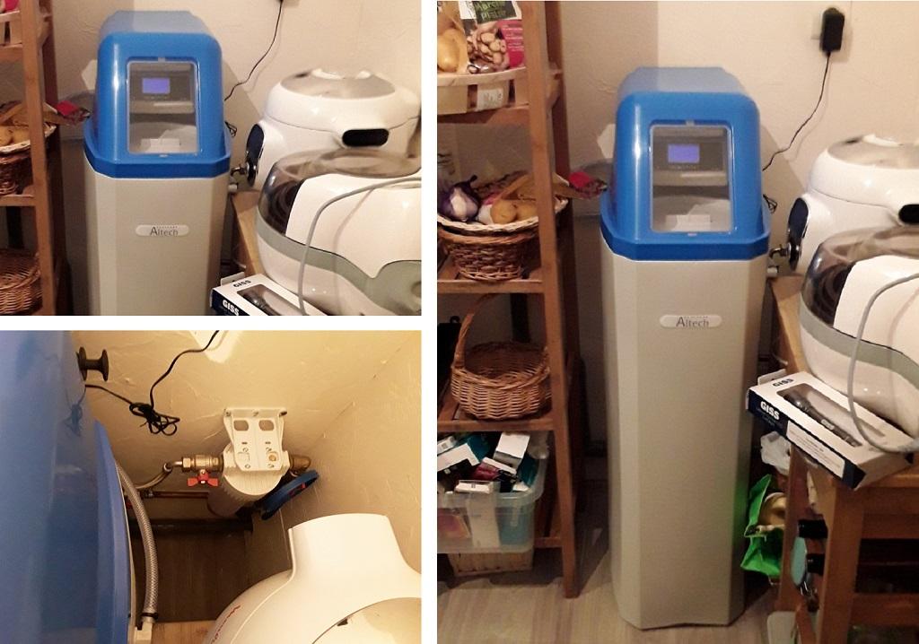 Installateur professionnel d'adoucisseur d'eau