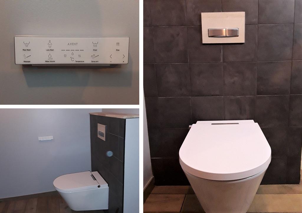 Toilette japonais - WC lavant
