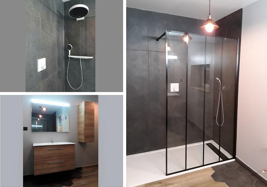 Salle de bain moderne design