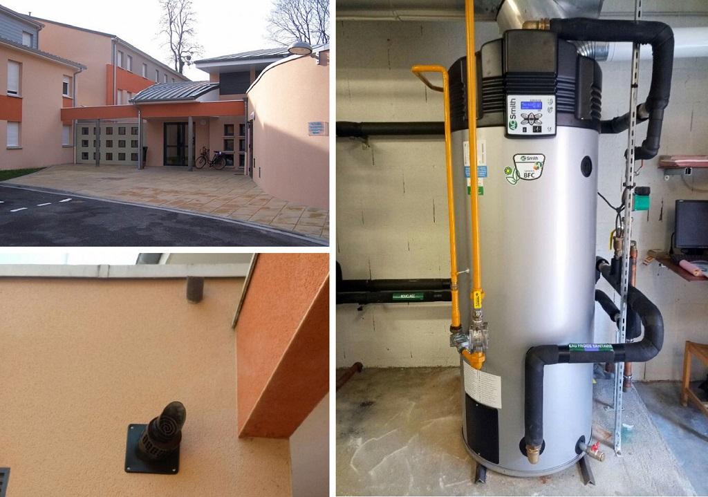 Préparateur d'eau chaude gaz à condensation AO Smith