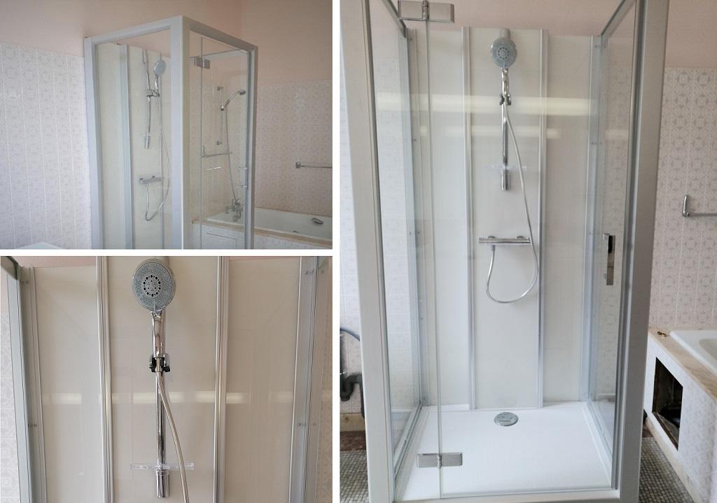 Cabine de douche intégrale Leda