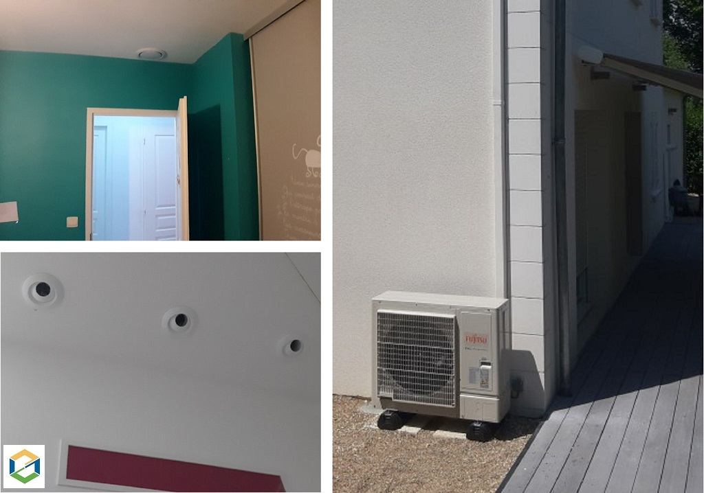 Climatisation d'une mezzanine via des buses longue portée -Cher (18)