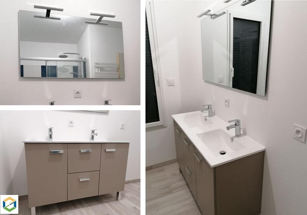 Meuble de salle de bain moderne Concerto