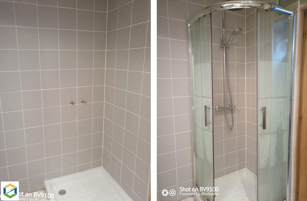 Remplacement complète d'une douche