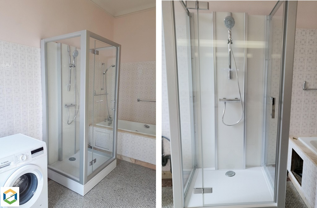 Cabine de douche haut de gamme Leda