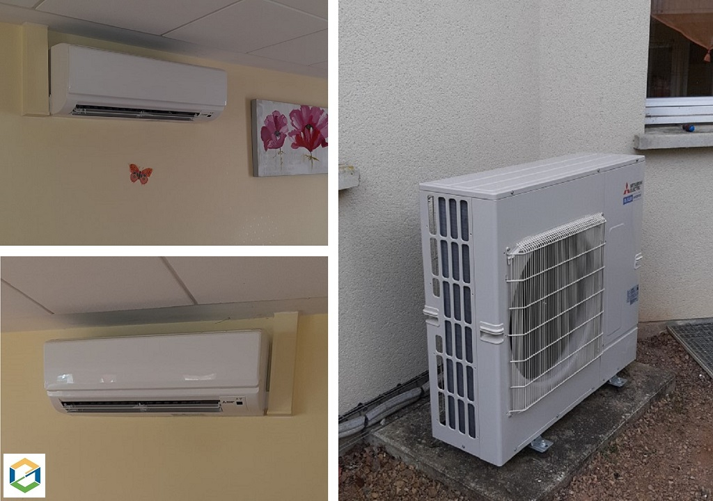 Climatisation tertiaire Twin Mitsubishi electric