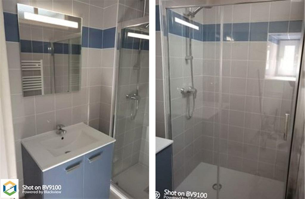 Réfection d'une salle de bain