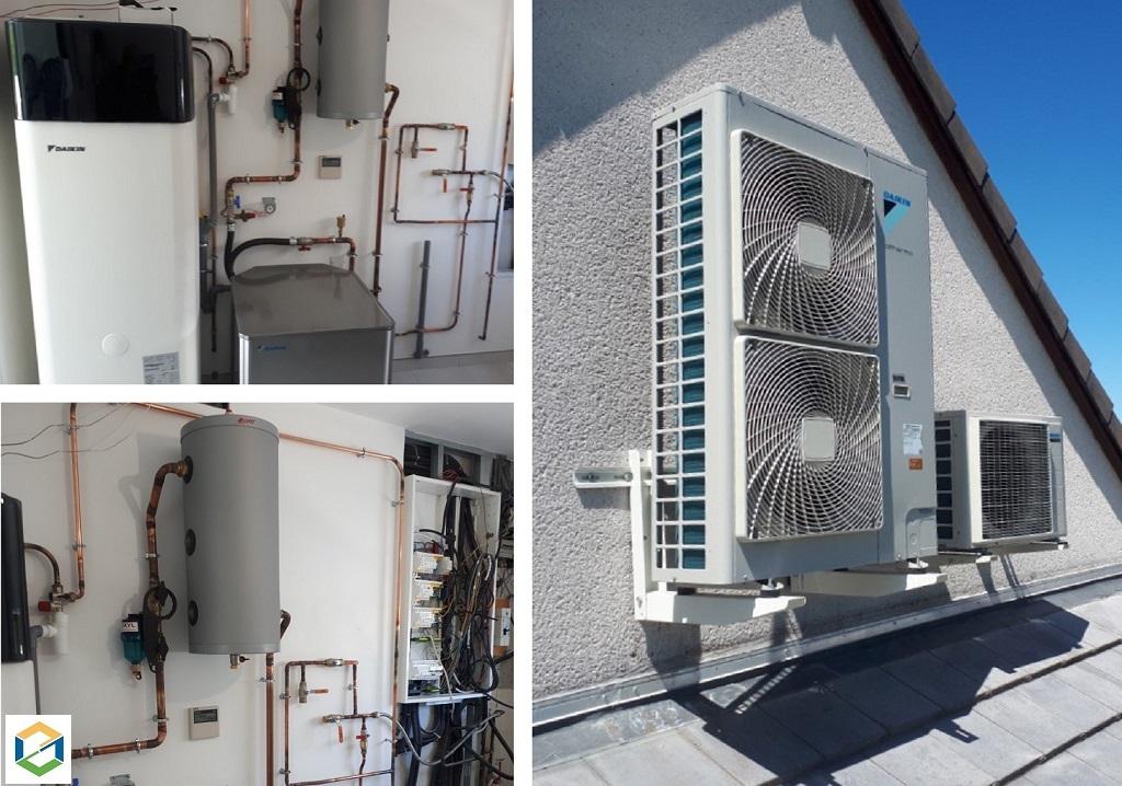 Pompe à chaleur et chauffe-eau thermodynamique Daikin