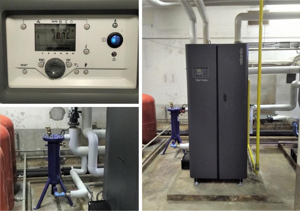 Chaudière Gaz à Condensation Atlantic Varmax à Semur en Auxois 21