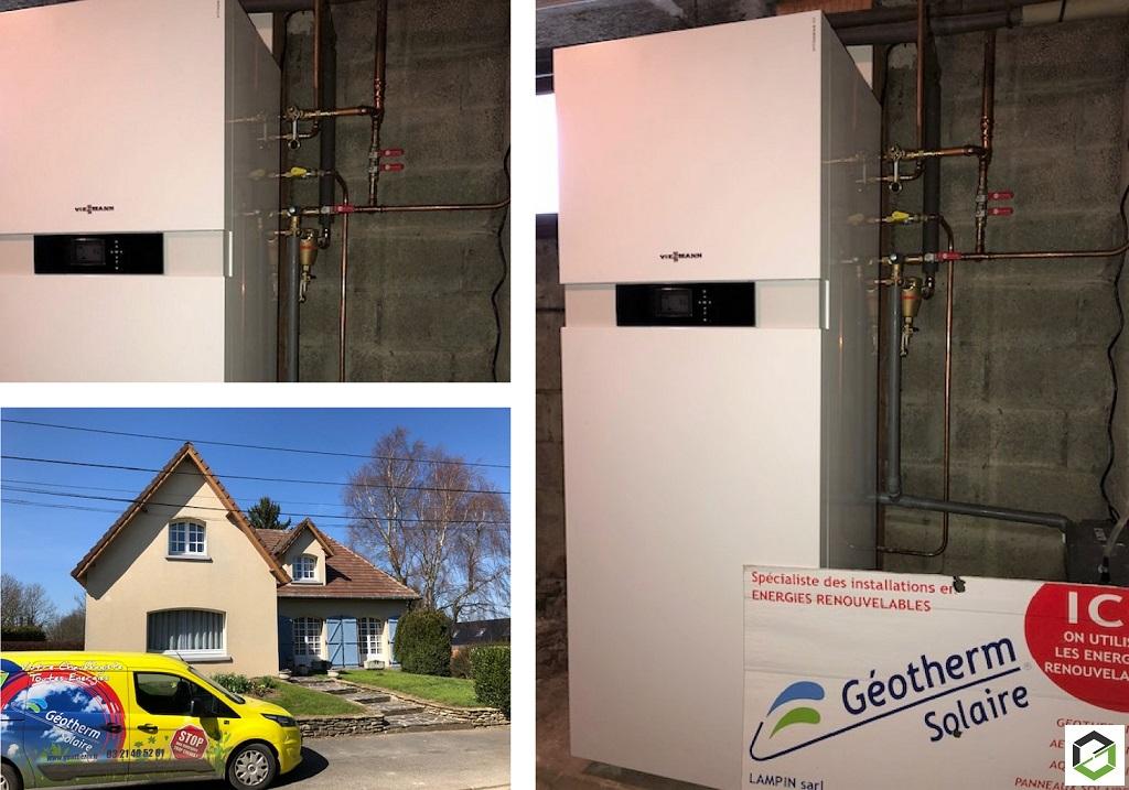 Installation Chaudière Gaz à condensation Viessmann-Pas de Calais (62)