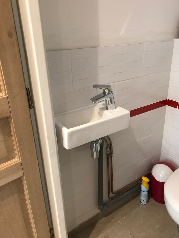 Marque De Toilette Suspendue pose lave main et toilette suspendue à villemomble 93 seine