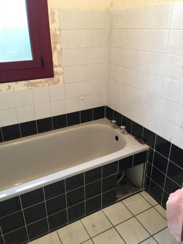 Réalisation d'une salle de douche à Longpont sur Orge 91 Essonne