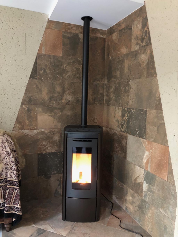 Installation d'un poêle à granulés de bois à Viry Chatillon 91 Essonnes