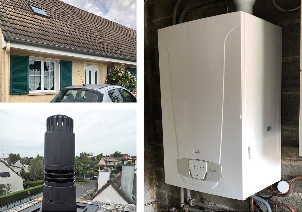 Installateur RGE Eco Artisan Remplacement chaudière gaz  91 Essonne