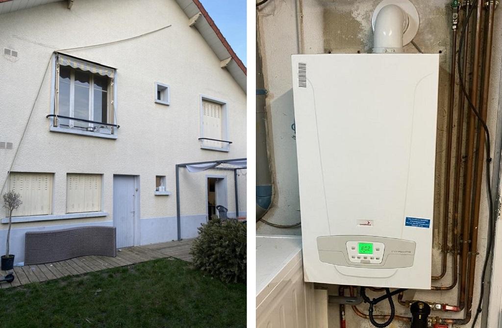 Installateur RGE Eco Artisan Remplacement chaudière gaz Chappée Initia + HTE  91 Essonne