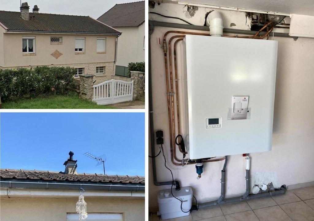 Installateur RGE Eco Artisan Remplacement chaudière gaz Frisquet